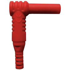 Banana Plug, Right Angle, 1000VAC, Red (5TXC0)