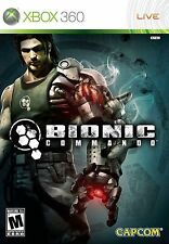 XBOX 360 Bionic Commando Video Game capcom online mulitplayer fun 1080p COMPLETE