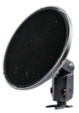 Lencarta Atom Portable Flash Beauty Dish (inc. Honeycomb Grid)