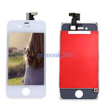 For Apple Iphone 4s White LCD Display Touch Screen Digitizer Glass Assembly