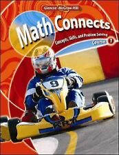 Glencoe Math Connects, Course 1, by McGraw-Hill Education