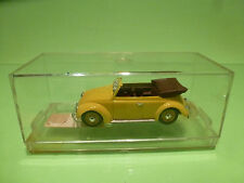 VITESSE VW VOLKSWAGEN KAFER CABRIOLET - YELLOW 1:43 - NEAR MINT IN BOX