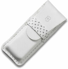 Victorinox Swiss Army White Leather Pouch  Tomo + Classic Knives 4.0762.7