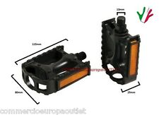 coppia pedali bici MTB BICICLETTA ANTISCIVOLO PVC pair of bike pedals Stock
