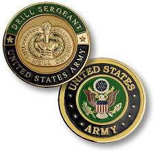 NEW U.S. Army Drill Sergeant Challenge Coin. 61555.