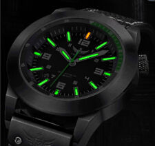 Men Military Watch SwissTritium gas H3 Green Light super luminous WR100M