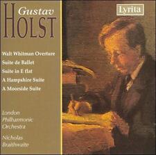 Holst: Walt Whitman Overture / Suite de Ballet / Suite in E Flat / A Hampshire S