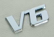 V6 Sticker Auto Brand New Car 3D Logo Emblem Badge Decal Universal
