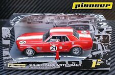 Pioneer 1968 Ford Mustang Notchback #21 -Bill Maier DPR 1/32 Scale Slot Car P012