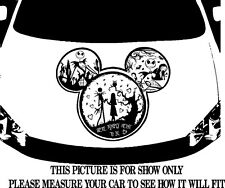 MICKEY NIGHTMARE BEFORE CHRISTMAS CAR DECAL GRAPHIC VINYL HOOD OR SIDE