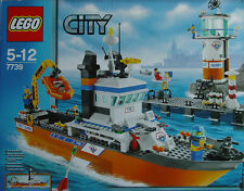 Lego Town City  7739 Coast Guard Patrol Boat & Tower New Sealed