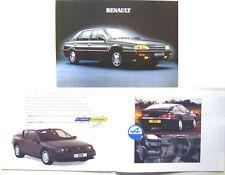 Renault 5 19 21 Espace 25 GTA 1990-91 Original UK Sales Brochure