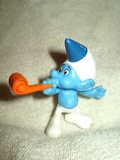 Smurfs Movie Action Figure Blue Hat 2013 McDonalds 3.5 inch loose