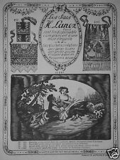 PUBLICITÉ 1924 LES SACS H.LANEZ MAROQUINERIE DE LUXE - ADVERTISING