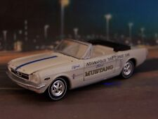 1964 1/2 FORD MUSTANG INDY 500 PACE CAR COLLECTIBLE MODEL - 1/64 SCALE DIORAMA