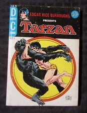 1972 DC Blue Ribbon Digest TARZAN v.1 #1 FVF Joe Kubert Edgar Rice Burroughs ERB