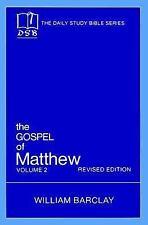 Gospel of Matthew: The Gospel of Matthew Daily Study Bible: New Testament...
