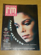 RECORD MIRROR 1989 NOV 18 JANET JACKSON BELOVED