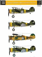 sd48008/ S.B.S Model - Decals - Gloster Gladiator Mk. II - Finnland - 1/48