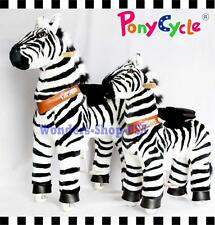 PONYCYCLE ZEBRA Rock Walk Ride On Toy Horse PONY Medium AgeS 4-9 KID BOY GIRL