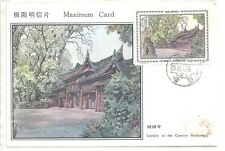 China 1981 Maximun Card