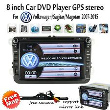 "8""U For VW Passat Golf Tiguan Car DVD Player Stereo GPS Navi 2012 2013 2014 2015"