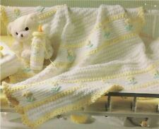 Crochet Baby Afghan(blanket) PATTERN (NOT FINISHED ITEM)