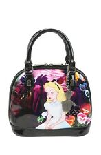 Disney Alice In Wonderland Flowers Patent Dome Bag Limited Edition Of 1500 NWT!