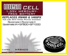 Batteria WeinCell MRB 400 - zinco/aria - 1,35 V - Ricambio RM400R - V400PX