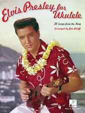 """ELVIS PRESLEY FOR UKULELE"" MUSIC BOOK BRAND NEW ON SALE SONGBOOK 20 SONGS!!"