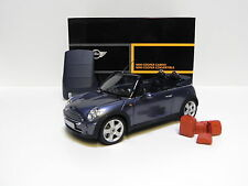 1:18 Kyosho Mini Cooper Convertible R52 Cool blue DEALER NEW bei PREMIUM-MODELCA
