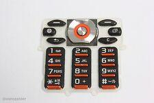 Sony Ericsson W880 W880i Tastatur Tastenmatte Keypad Nummerntasten rot/schwarz