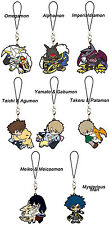 Digimon Adventure tri Vol.1 Mascot PVC Keychain Charm ~ Set of Eight @10952