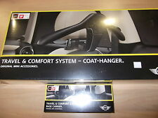 Mini Cooper F55 F56 Seat Travel Coat  Hanger And Carrier 2014-2015  OEM