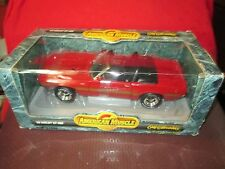 1969 Shelby GT 500 CONVERTIBLE MUSTANG AMERICAN MUSCLE 1/18 red BOX DAMAGED