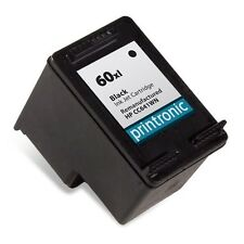 Black HP 60XL Ink Cartridge - DeskJet D2568 D2645 D2660 D2663 D2680 F2400 F2420