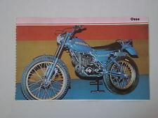 - RITAGLIO DI GIORNALE 1982 MOTO OSSA 240/350 EXPLORER