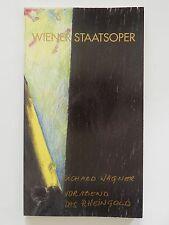 Wiener Staatsoper Richard Wagner Vorabend das Rheingold Programmheft