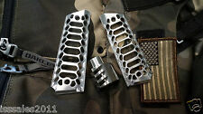 "1911 .45acp PREDATOR COMMANDER Muzzle Brake and ""Cobra Skeleton"" Grips COMBO"