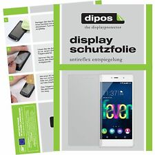 2x Wiko Fever 4G Schutzfolie Display Folie matt Displayschutzfolie dipos