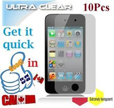 10X ULTRA clear screen protector Apple ipod 4 iPOD4 film guard Protecteur ecran