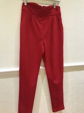 VERA And LUCY - Ladies Red Trousers Size Medium- UK 10/12
