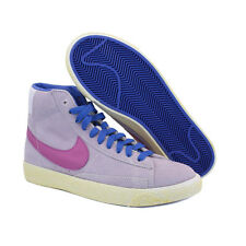 NR.35,5 NIKE BLAZER DONNA MID PREMIUM LEATHER SCARPE SHOES PELLE 539930 501