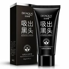 Women Blackhead Remove Black Mud Face Mask Deep Cleansing Purifying Peel Acne