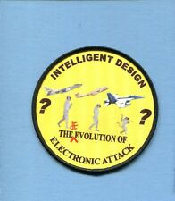 VAQ ELECTRONIC ATTACK SKYWARRIOR PROWLER EA-18G GROWLER US Navy Squadron Patch