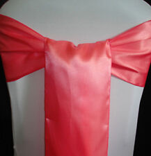 125 satin Chair Cover Sash Bow Wedding Banquet decor 30 color SHIP TO WORLD-WIDE