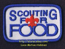 LMH PATCH Badge  BOY GIRL CUB SCOUTS Program  BSA GSA  SCOUTING for FOOD Council