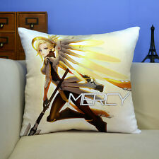 Overwatch Mercy Pillow OW Competitive Games Cushion Gift