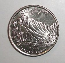 2006 US State Quarter, 25 cents, Colorado Mountains coin