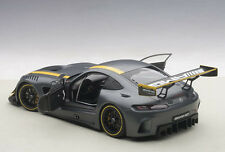 Autoart MERCEDES BENZ AMG GT3 PRESENTATION CAR GREY COMPOSITE MODEL 1/18 New!